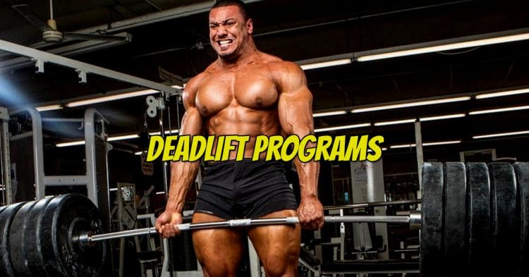 Deadlift Workout Programs