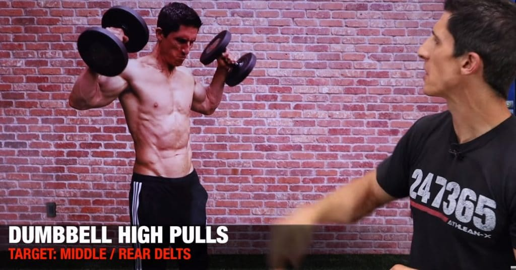 Dumbell High Pulls
