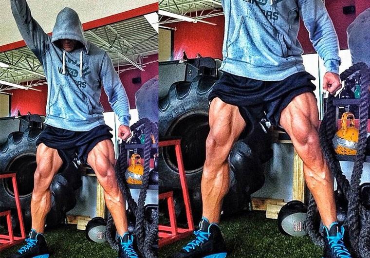 Dwayne Johnson Legs