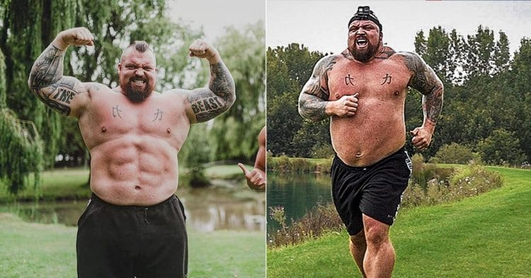 Eddie Hall Attempt To Pass Navy SEAL Physical Fitness Test