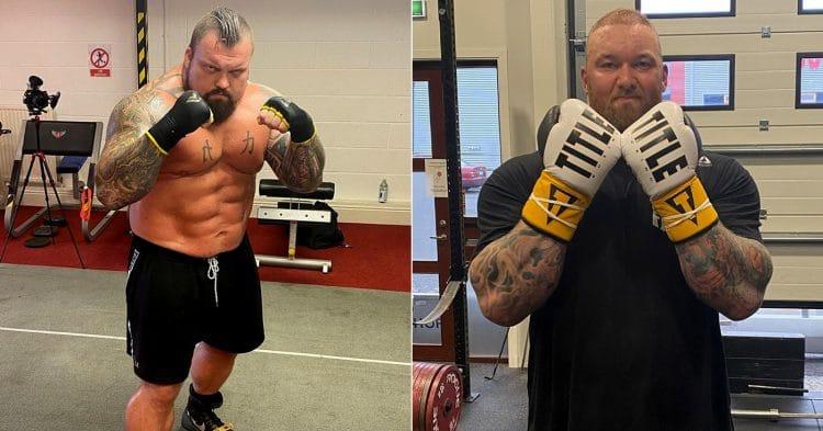 Eddie Hall Plan To Beat Hafthor Bjornsson