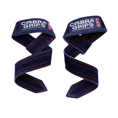 Grip Power Pads Cobra Grips Suede Leather Lasso Lifting Straps