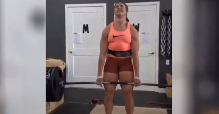 Jessica Buettner Deadlift Amrap