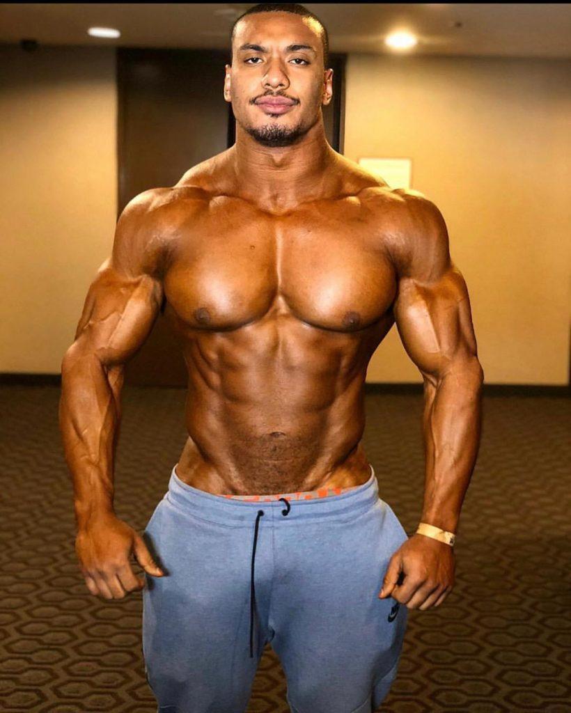 Larry Wheels Bodybuilding Show