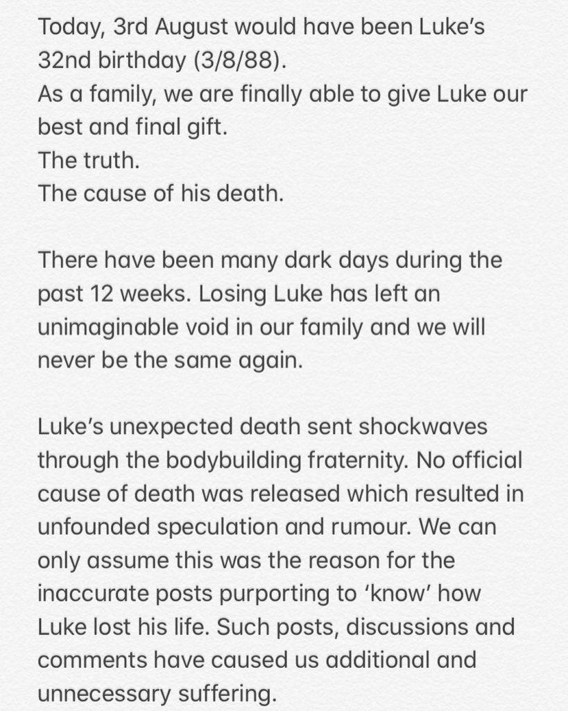 Luke Sando Cause Of Death 1