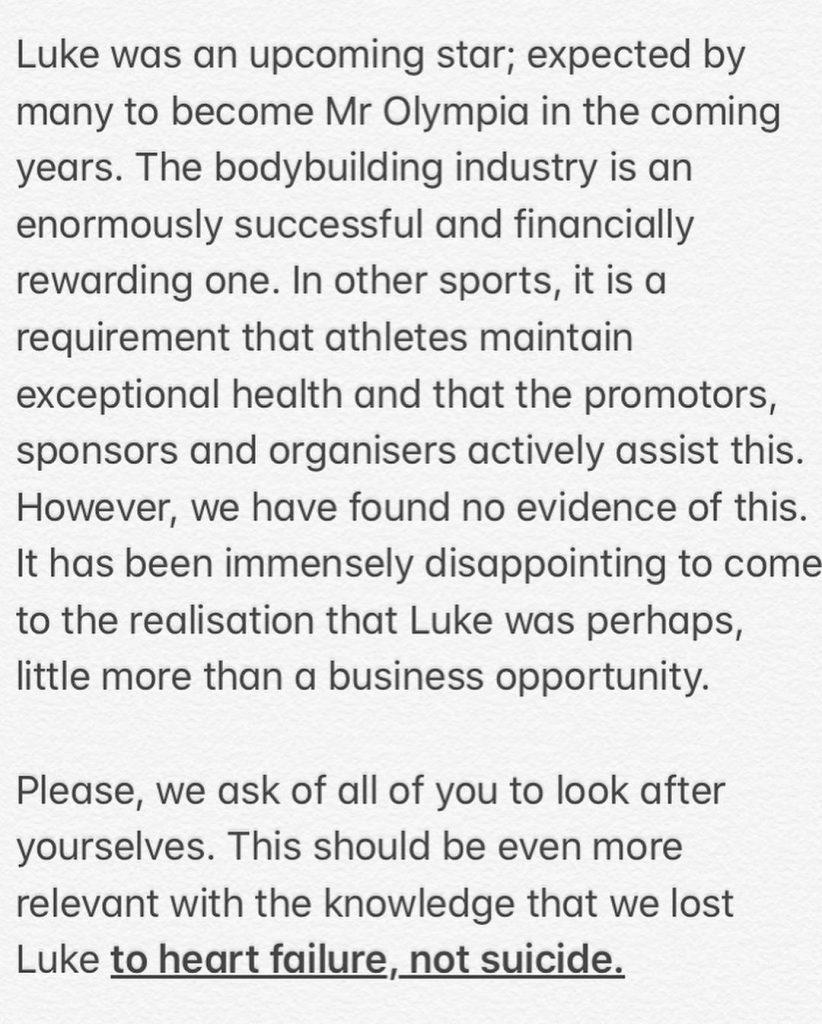 Luke Sando Cause Of Death 2