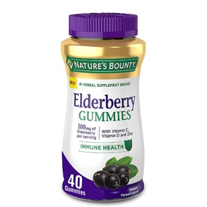 Nature S Bounty Elderberry Gummies