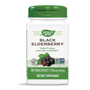 Nature S Way Black Elderberry Capsules