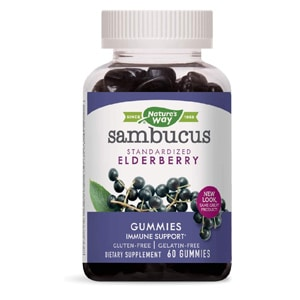 Nature S Way Sambucus Standardized Elderberry Gummies