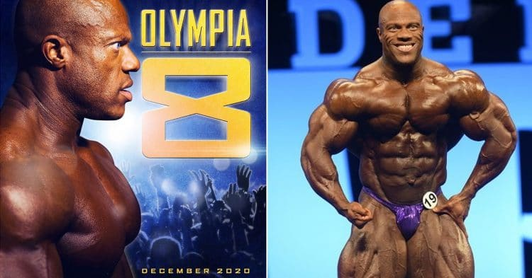 Phil Heath is back for Olympia 2020