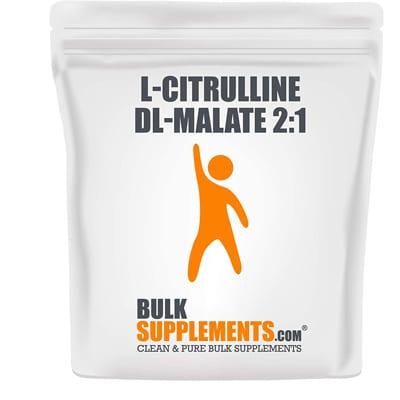 Bulksupplements L Citrulline Dl Malate Powder