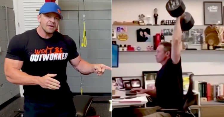 Chris Cuomo Using Fake Weights