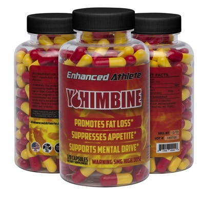 Enhanced Athlete Yohimbine Capsules
