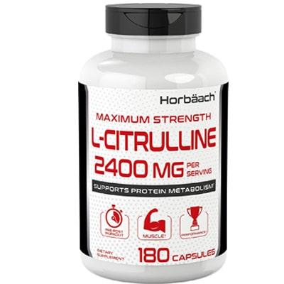 Horbaach Maximum Strength L Citrulline Capsules