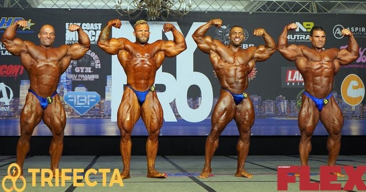 IFBB New York Pro 2020 Results