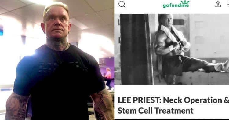 Lee Priest Gofundme