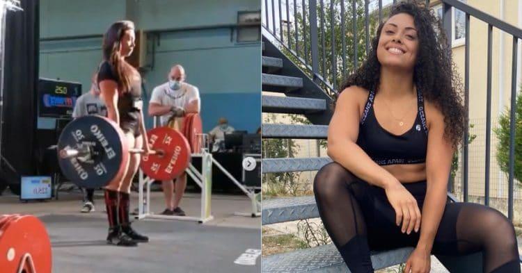 Lya Bavoil Smashes Total 542.5 kgs