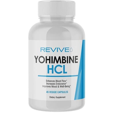 Revive Md Yohimbine Hcl Veggie Capsules