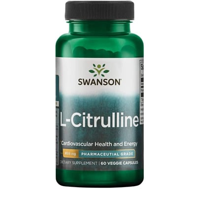 Swanson L Citrulline Capsules