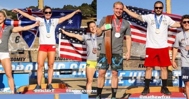 2020 CrossFit Games Top 3 Men Women