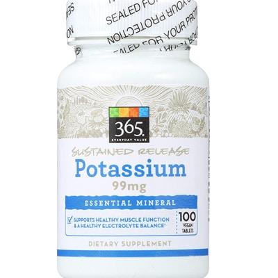 365 Everyday Value Potassium Tablets