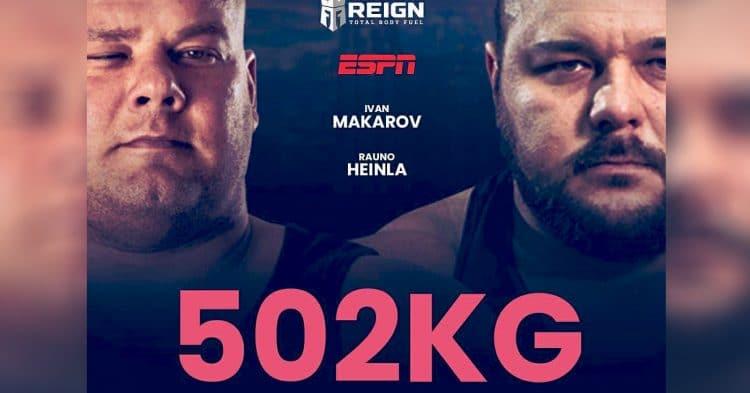 502kg Deadlift World Record Attempt