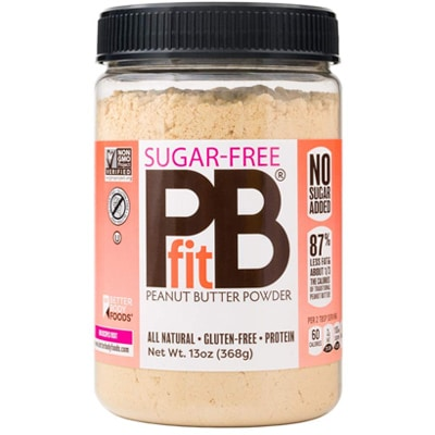 Better Body Foods Sugar Free Pbfit Peanut Butter Powder