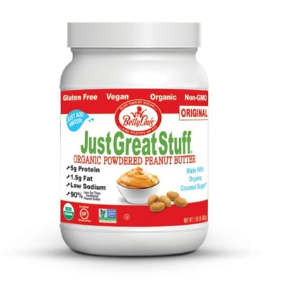 Betty Lou S Just Great Stuff Organic Powdered Peanut Butter