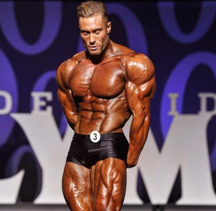 Chris Bumstead At Olympia Stage