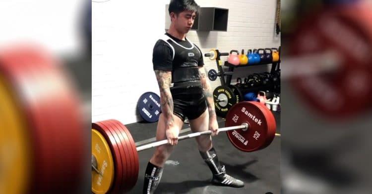 Chris Yip Raw Deadlift World Record