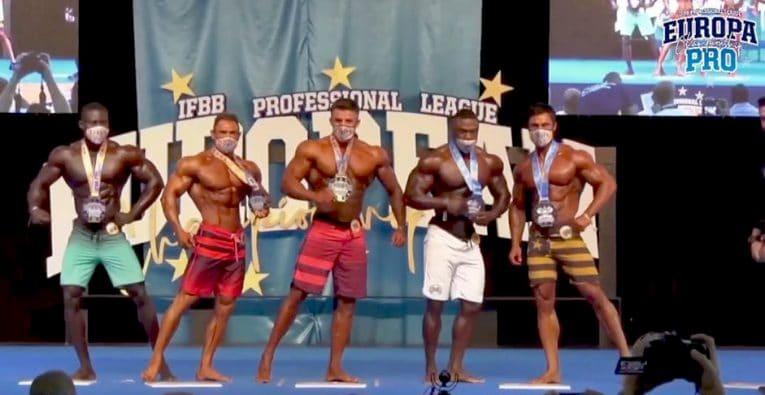 Europa Pro 2020 Men S Physique Top 5