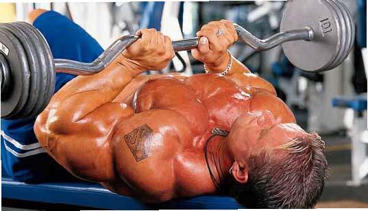 Ez Bar Close Grip Bench Press