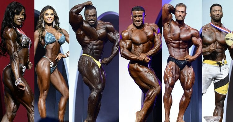Final Qualified Competitors For 2020 Mr. Olympia