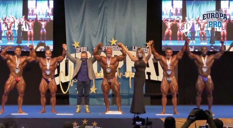 Men's Open Bodybuilding Top 5