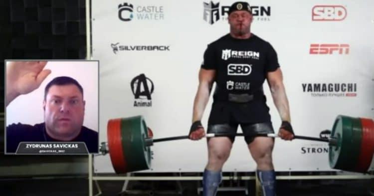 Mikhail Shivlyakov 436kg Masters Deadlift Record