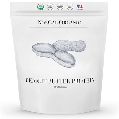 Norcal Organic Peanut Butter Protein Powder