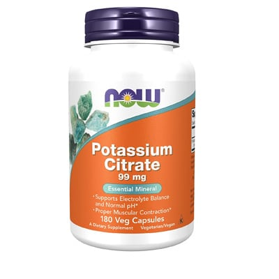 Now Supplements Potassium Citrate
