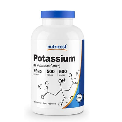 Nutricost Potassium Citrate