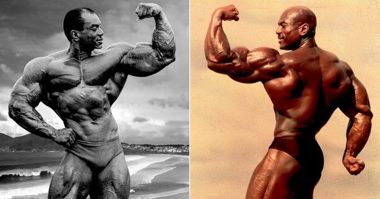 Old-school Bodybuilder Sergio Oliva