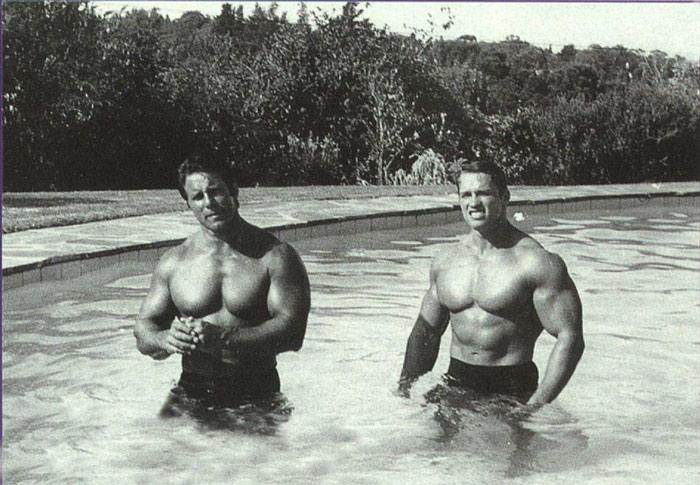 Arnold Schwarzenegger And Reg Arnold