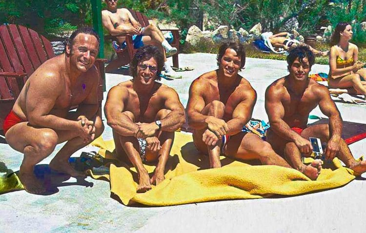 Arnold With Franco