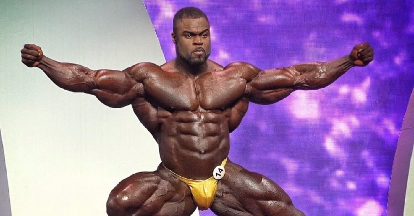 Brandon Curry Looks Peeled And Primed To Retain His Title 4 Weeks From  Olympia – Fitness Volt
