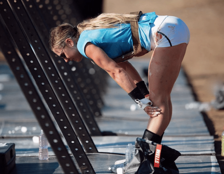 Brooke Wells at CrossFit Games 2020