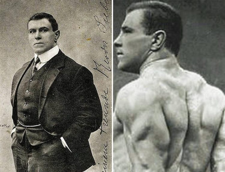 Father of The Bench Press George Hackenschmidt