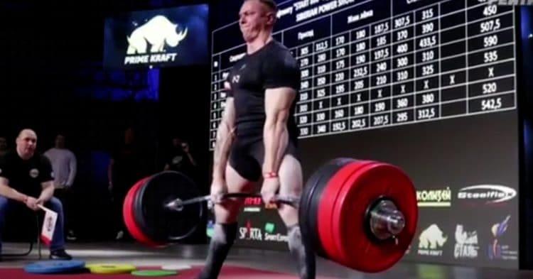 Krzysztof Wierzbicki 5x His Bodyweight