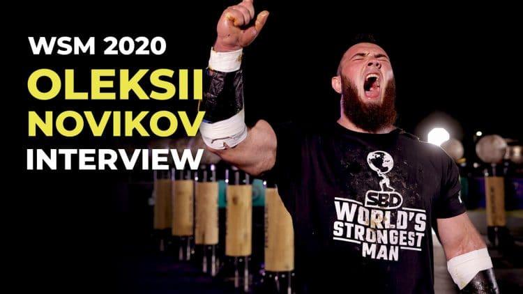 Oleksii Novikov Exclusive Talk