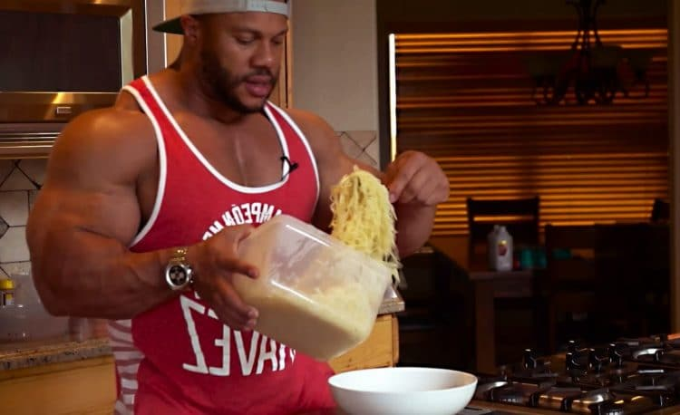 Phil Heath Eating