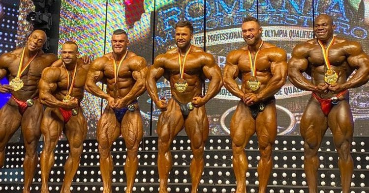 Romania Muscle Fest Pro Results