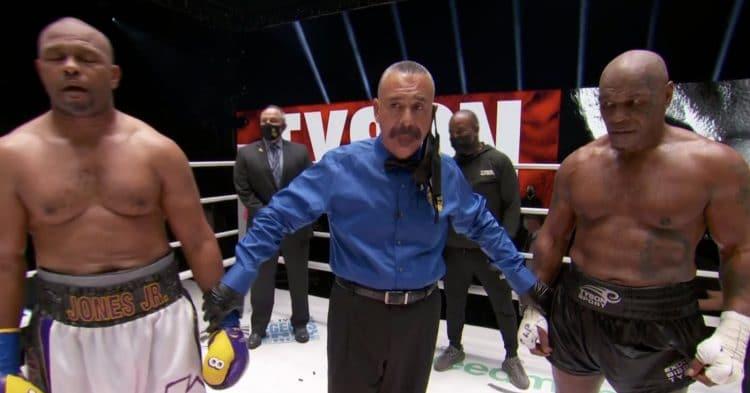 Tyson Vs Jones Fight