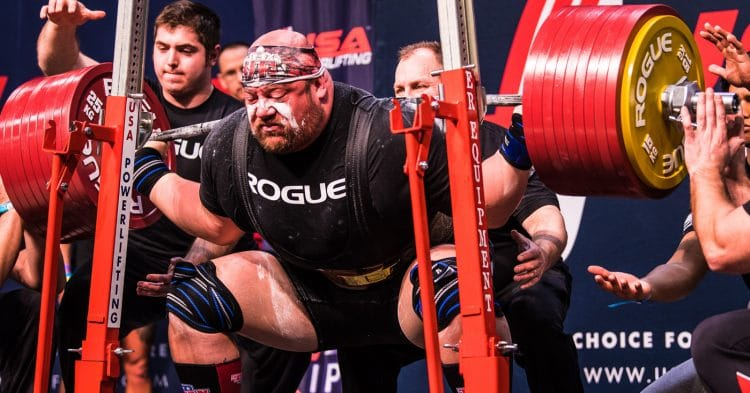 Weight Cut For Powerlifting Events